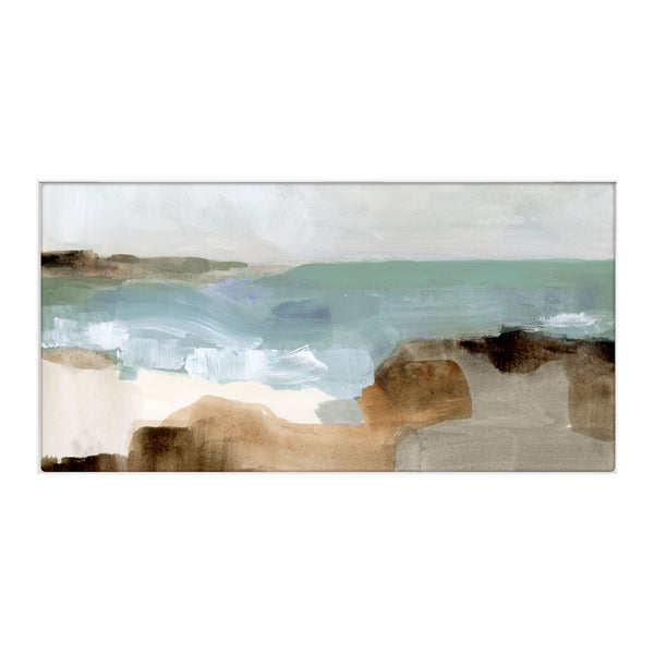 Ocean III Framed Canvas