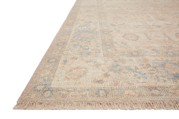 Priya Natural/Blue Rug