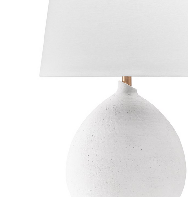 Ashland Table Lamp - White