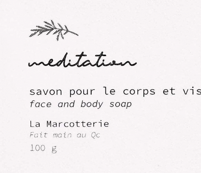 Soap Bar - Meditation