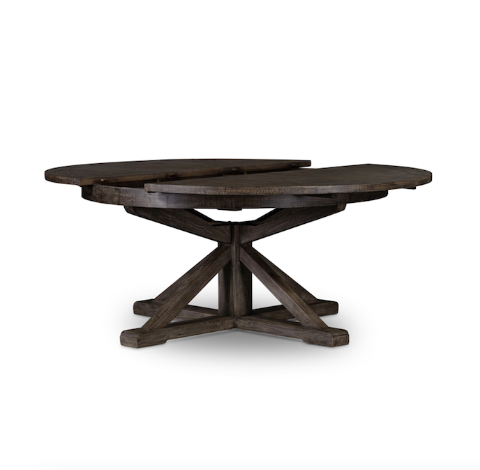 Nitra Extension Dining Table - Black Olive