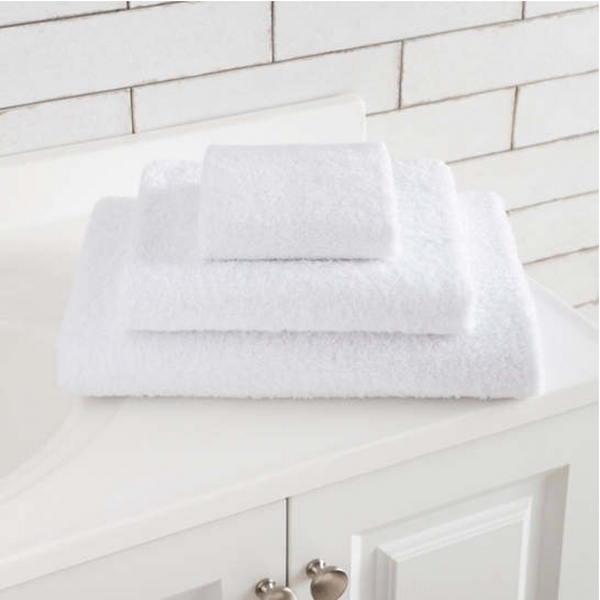White Signature Hand Towel