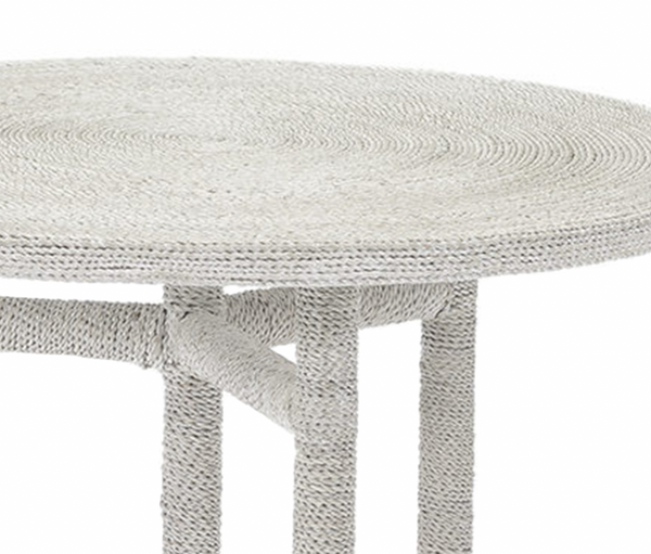 Madera Side Table - White Sand