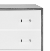 Currey 3 Drawer Dresser - Grey