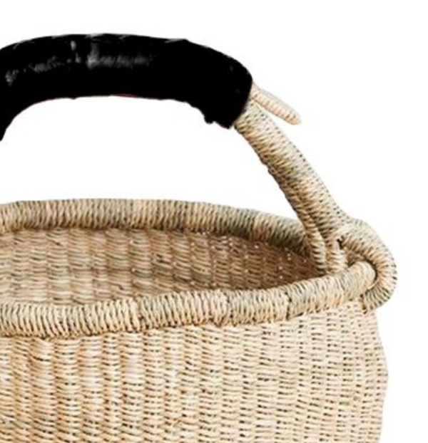 Mini Market Basket - Black