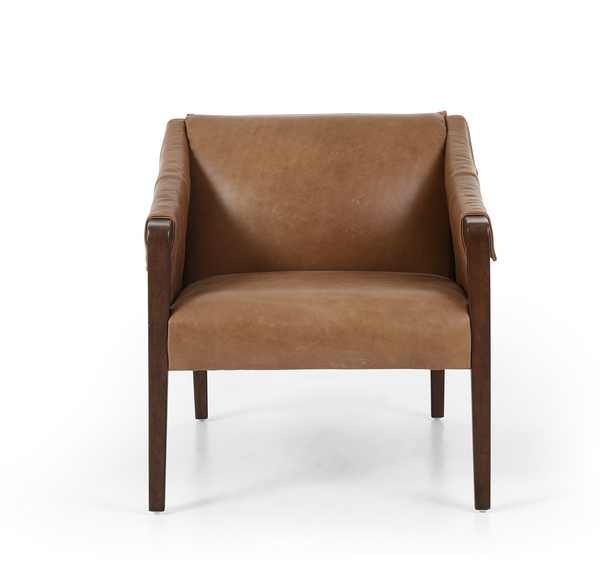 Boston Armchair - Warm Taupe