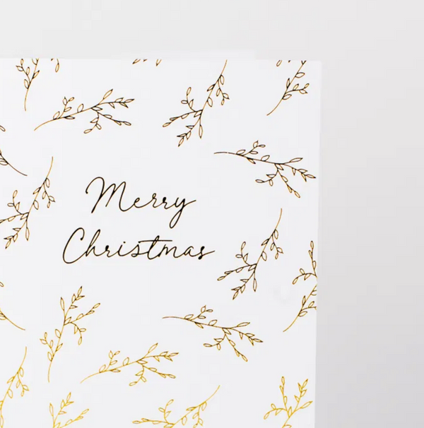 Merry Christmas Branches Card