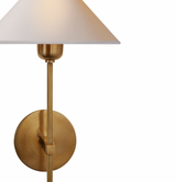 Hackney Single Sconce - Brass