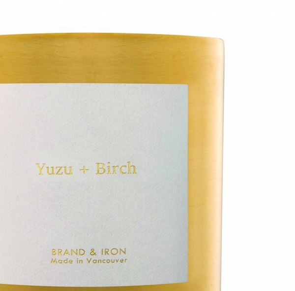 Yuzu + Birch Goldie Candle
