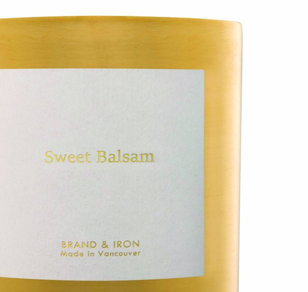 Sweet Balsam Goldie Candle