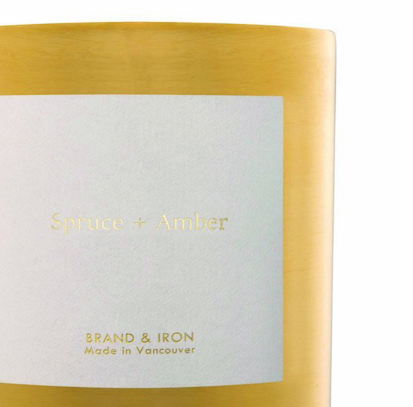 Spruce + Amber Goldie Candle
