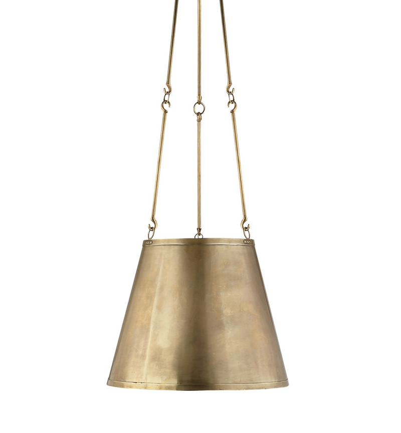 Lily Hanging Shade - Brass