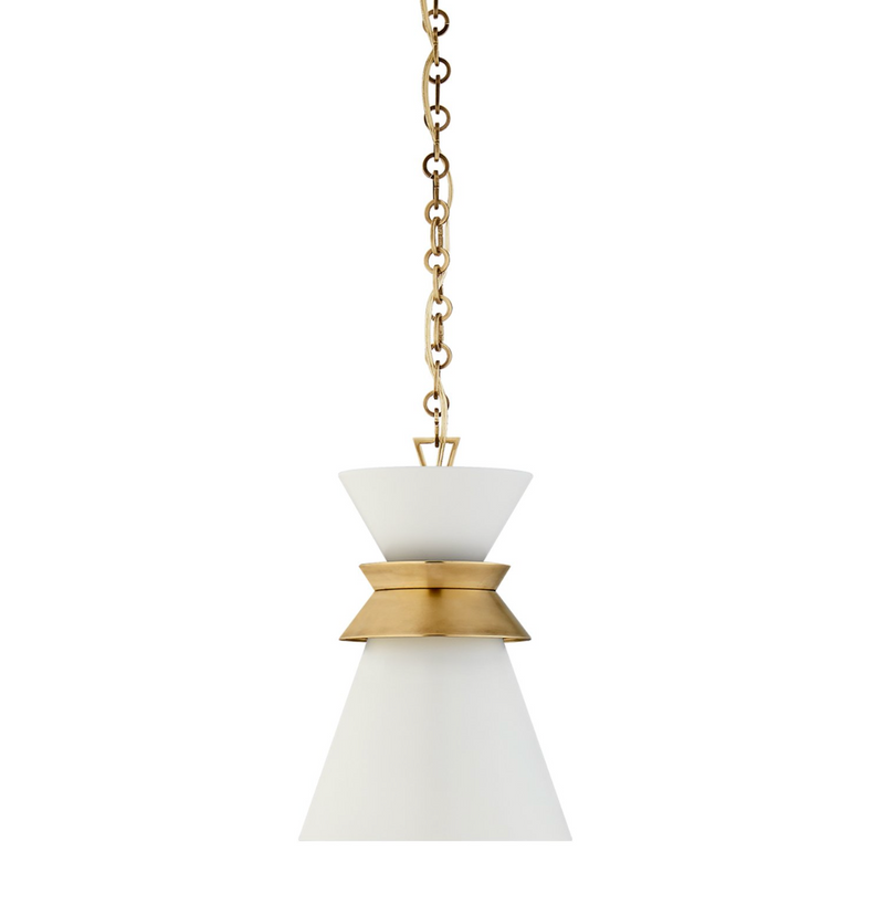 Alborg Small Stacked Pendant - Brass