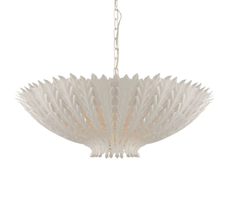 Hampton Large Chandelier - White
