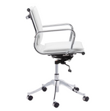 Morgan White Office Chair