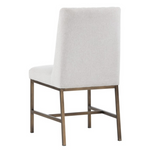 Leigh Dining Chair - Light Grey
