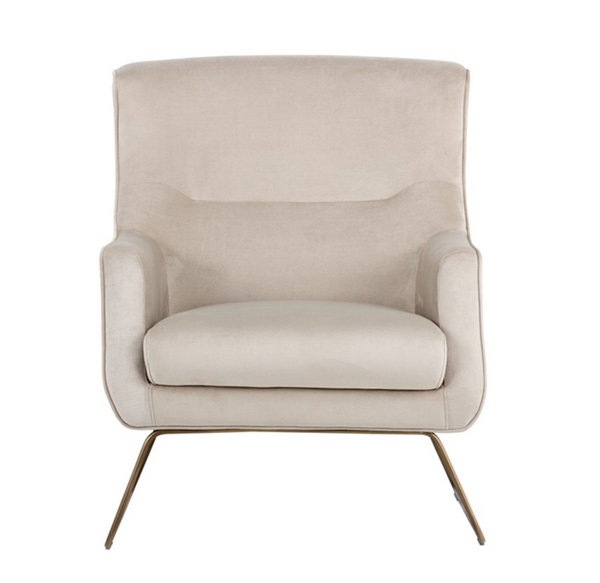 Dallas Champagne Armchair