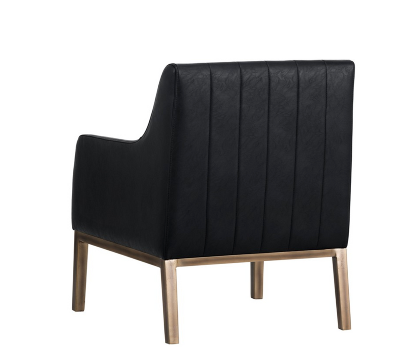 Knox Black Armchair