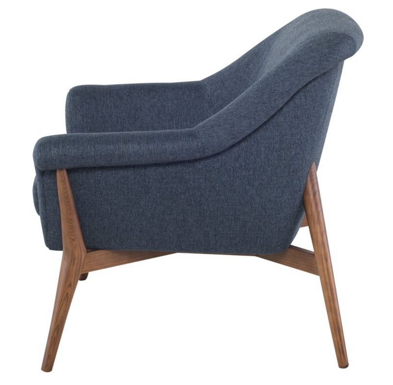 August Denim Tweed Chair