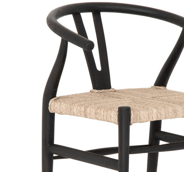 Meeka Dining Chair - Black Teak