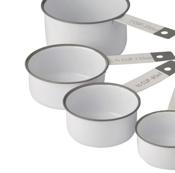 White/Grey Measuring Cups