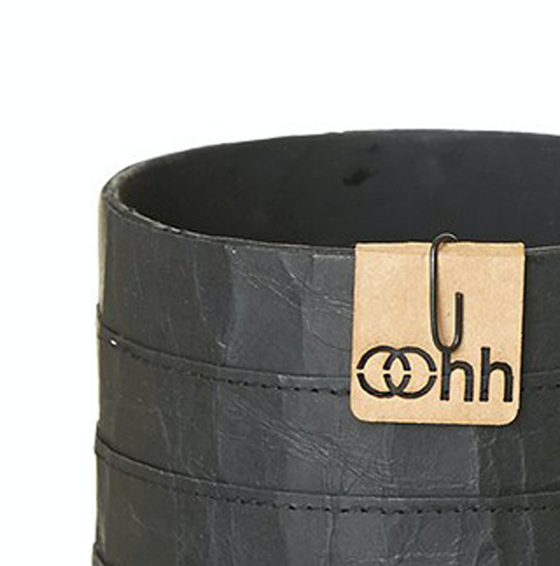 Milano Cylinder Pot - Black