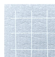 Sponge Cloth - Grey Grid