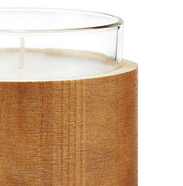 Palo Santo Wood Glass Candle