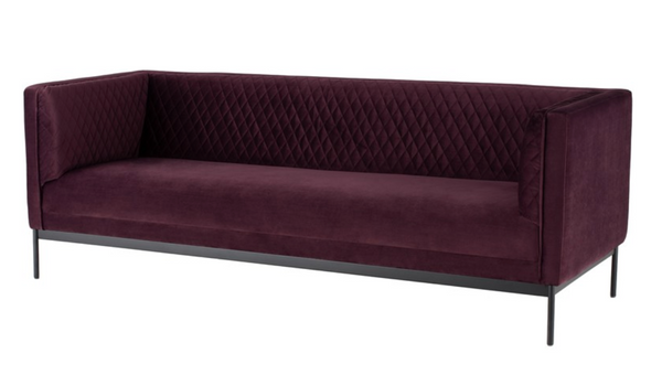 Adriana Sofa Mulberry