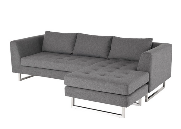 Matty Sectional - Shale Grey