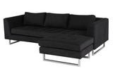Matty Sectional - Coal