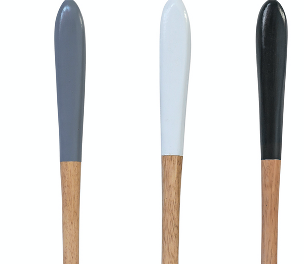 Colour Block Wooden Spoons
