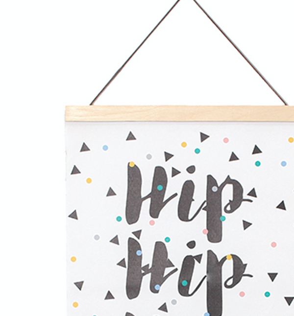 Hip Hip Wall Hanging