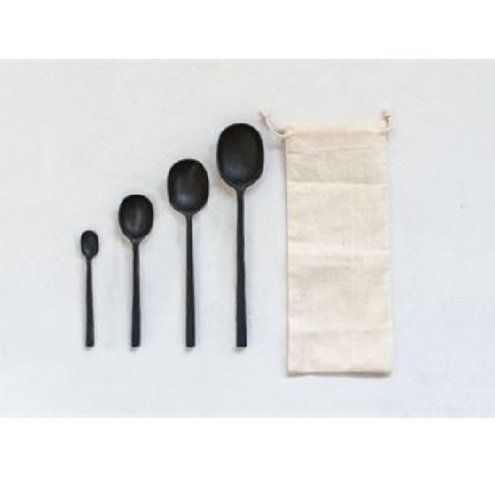 Black Serving Set