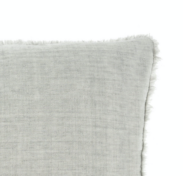 Lina Linen Pillow - Grey