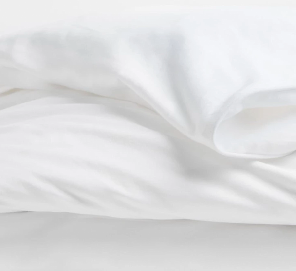 White Terry Duvet Cover