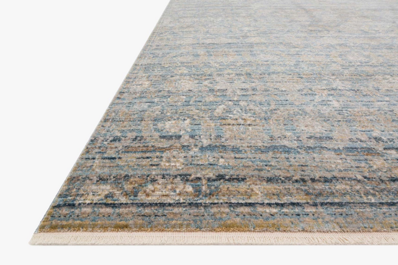 Claire Ocean/Gold Rug