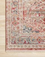 Claire Red/Ivory Rug