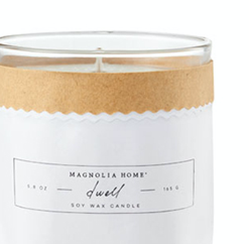 Magnolia Home Dwell Kraft-Textured Candle