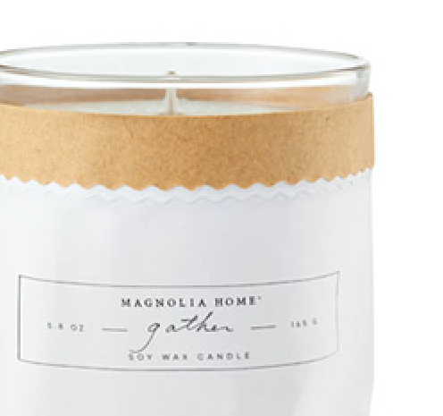 Magnolia Home Gather Kraft-Textured Candle
