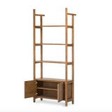 Yad Bookcase with Doors