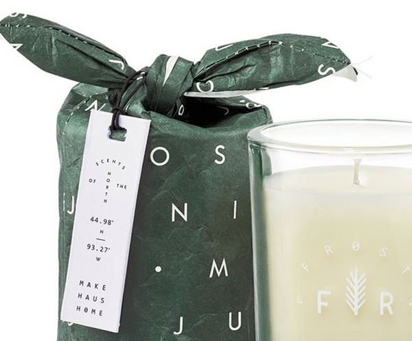 Juniper Moss Bagged Glass Candle