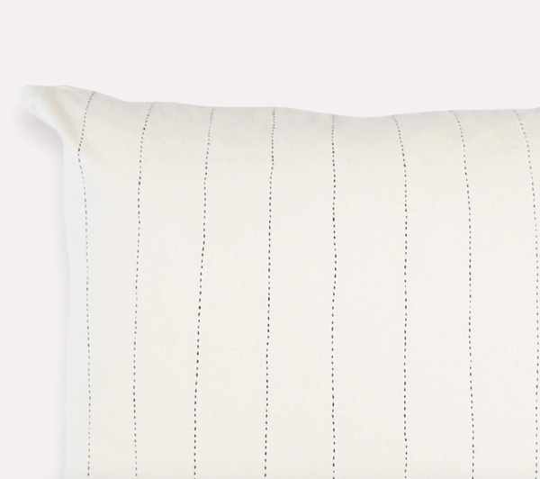 Pin-Stitch Pillow