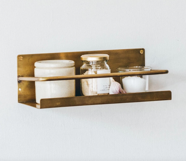 Brass Floating Shelf