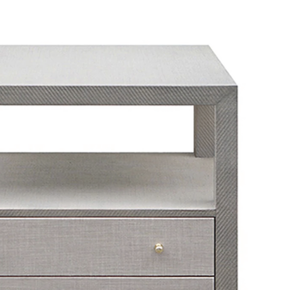 Nattie Nightstand - Grey