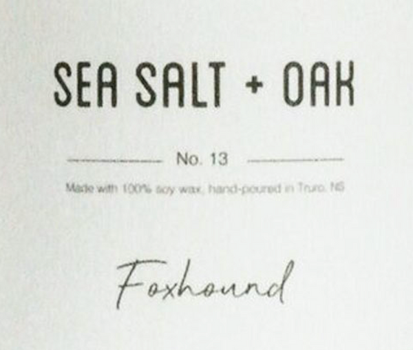 Sea Salt & Oak Candle