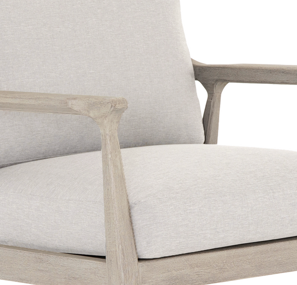 Springhurst Grey Outdoor Chair - Stone