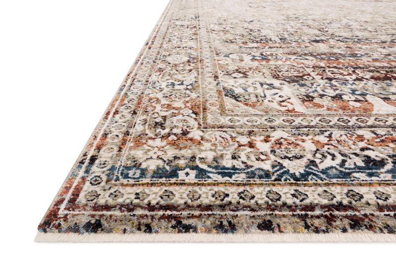Theia Taupe/Brick Rug