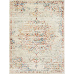 Trousdale Ivory/Red Rug