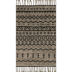 Tulum Graphite/Black Rug